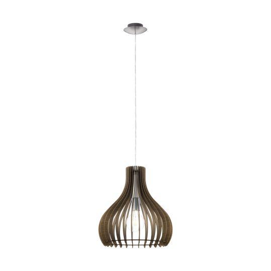 Eglo Tindori Satin Nickel Pendant Lamp (96259)