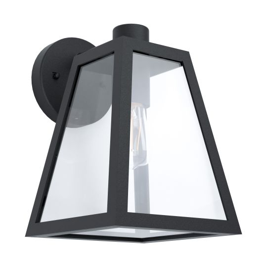 Eglo Mirandola Black Outdoor Wall Light (98719)