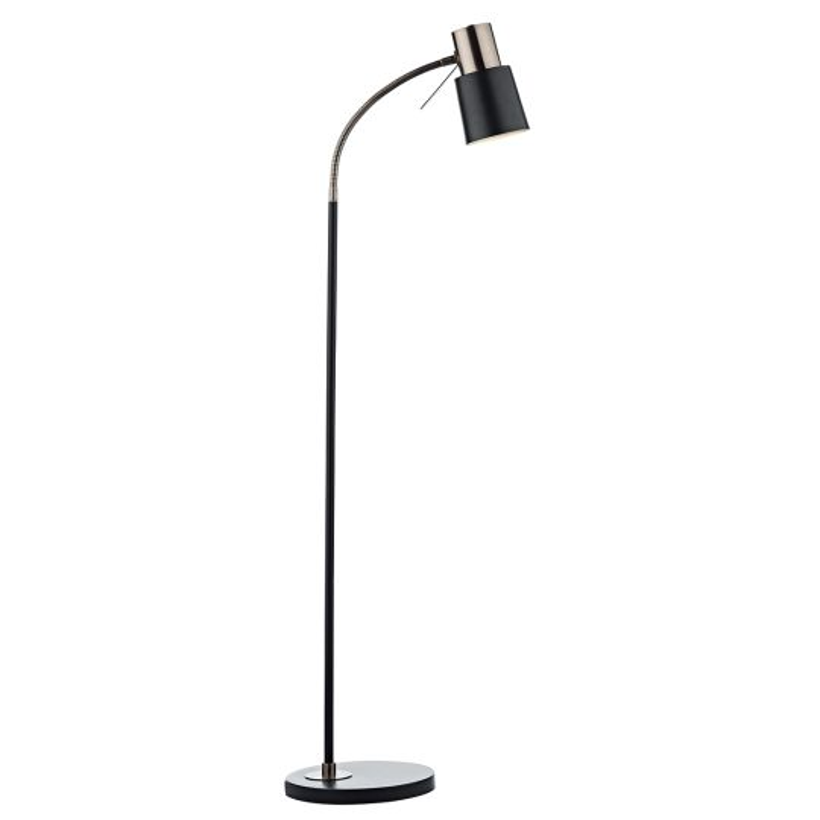 Dar Lighting Bond Floor Lamp Black Copper BON4954