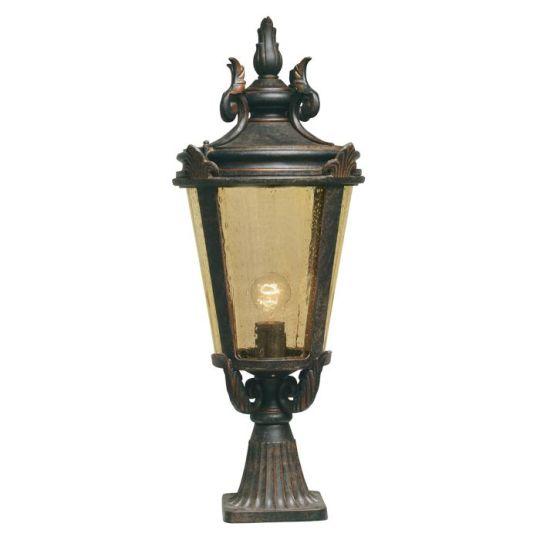 Elstead Lighting Ba Lightimore 1 Light Large Pedestal Lantern BT3-L