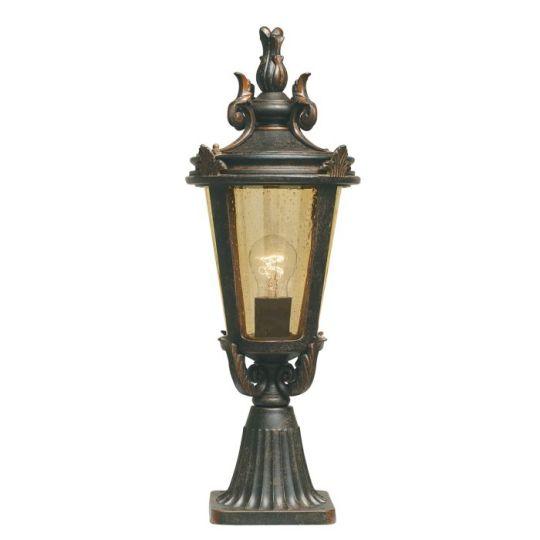 Elstead Lighting Ba Lightimore 1 Light Medium Pedestal Lantern BT3-M