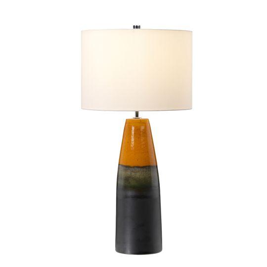 Elstead Lighting Burnt Oak 1 Light Table Lamp BURNTOAK-TL