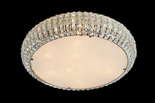 Impex CFH905262/09/PL/CH Rome  Series Decorative 9 Light Chrome Ceiling Light