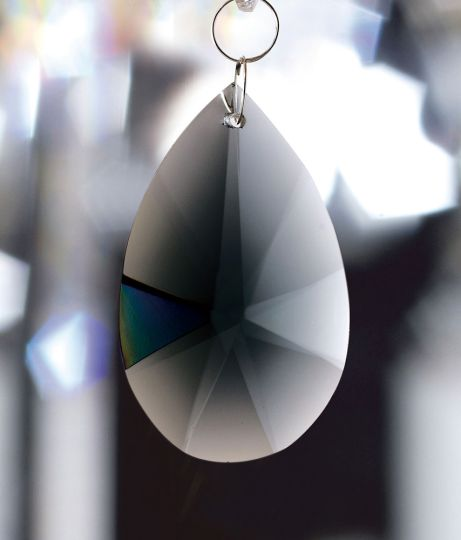 Diyas C20134 Crystal Star Pendalogue Without Ring Smoked 38mm