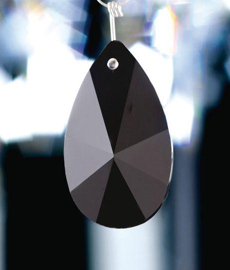 Diyas C20152 Crystal Star Pendalogue Without Ring Black 50mm