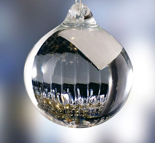 Diyas C60030 Glass Ball Clear Without Ring 30mm