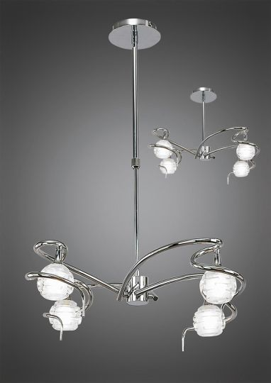 Mantra Lighting - Rosa Del Desierto Switched Wall Lamp 1 Light Satin Nickel - M0051/S