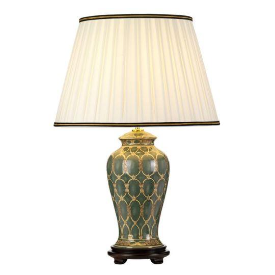 Designer's Lightbox Sashi 1 Light Table Lamp With Tall Empire Shade DL-SASHI-TL