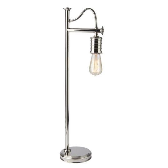 Elstead Lighting Douille 1 Light Table Lamp - Polished Nickel DOUILLE-TL-PN