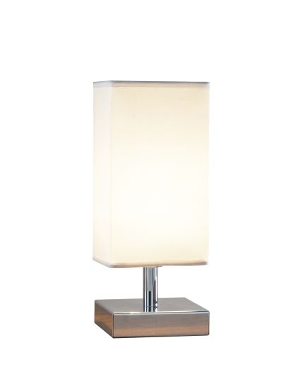 Dar Lighting DRA4050 - Drayton Touch/L Table Lamp Square Complete