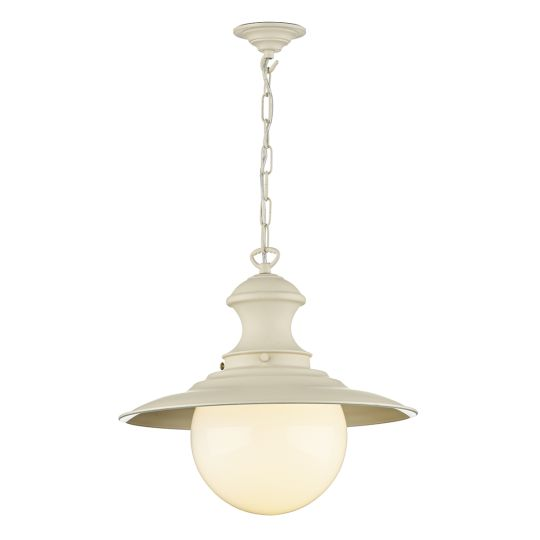 David Hunt Lighting EP33 Station Lamp Cream(Spare Glass For SL9)