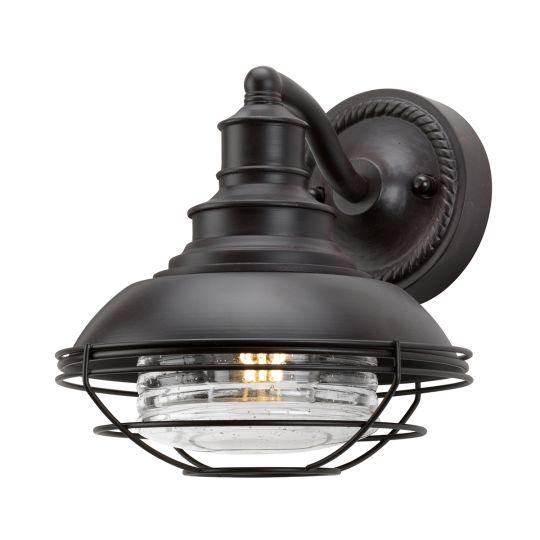Elstead Lighting Euston 1 Light Wall Lantern EUSTON