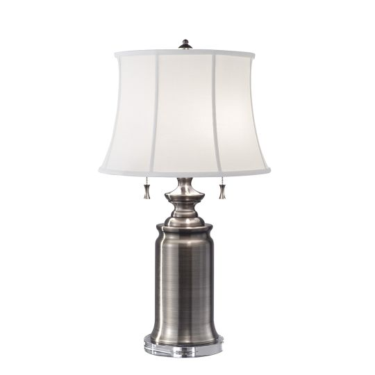 Feiss Stateroom 2 Light Table Lamp - Antique Nickel FE-STATEROOM-TL-AN