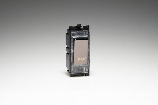 Varilight Iridium 20A 1-Way Double Pole Switch 'Freezer' (G201DI.FZ)