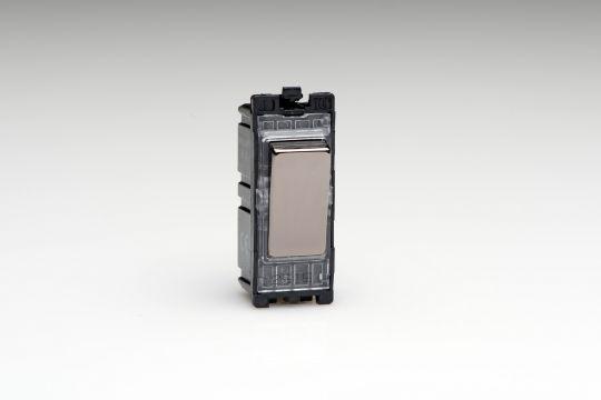 Varilight Iridium 10A Multi-Way Push Retractive Switch (G100PI)