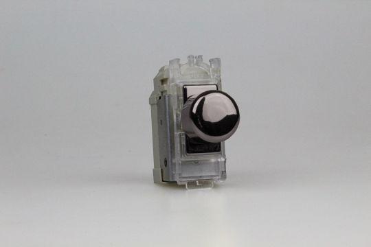 Varilight Iridium 2-Way Push-On/Off Rotary LED Dimmer 0-120W (1-10 LEDs) (1 Grid Space) (GJP100I)
