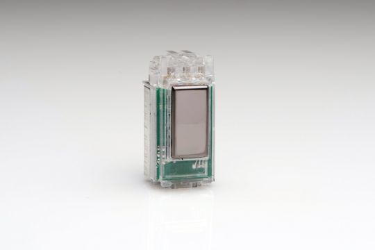 Varilight Iridium Tactile Touch Control Dimming Supplementary Controller for use with Master on 2-Way Circuits (1 Grid Space) (GJESI)