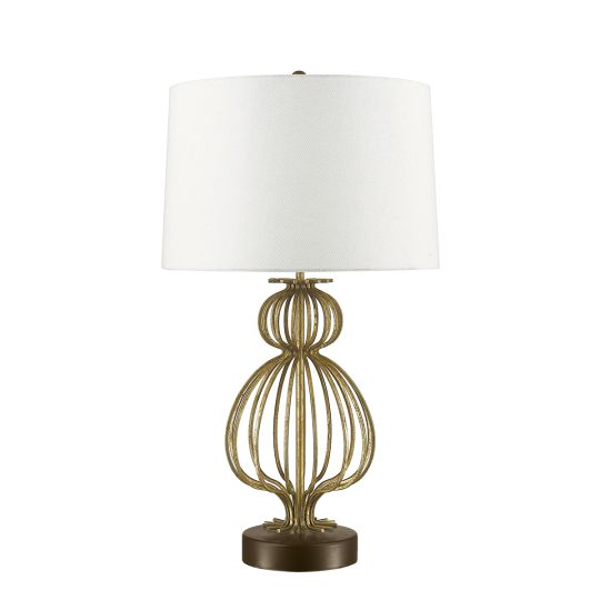 Gilded Nola Lafitte 1 Light Table Lamp  - Distressed Gold GN-LAFITTE-TL-GD