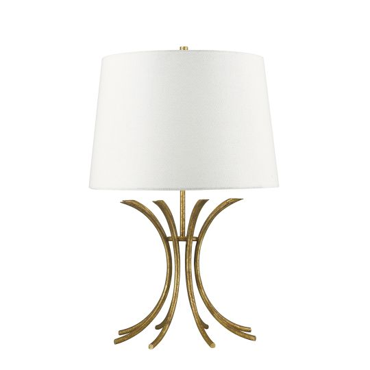 Gilded Nola Rivers 1 Light Table Lamp  GN-RIVERS-TL