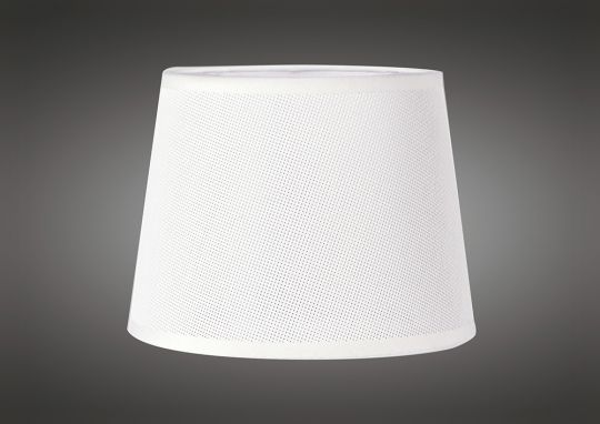 Mantra M5237 Habana White Round Shade 200 x 152mm Suitable for Wall Lamps