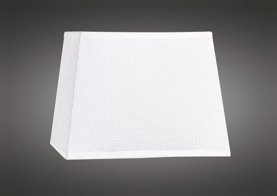 Mantra M5239 Habana White Square Shade 160/200 x 152mm Suitable for Wall Lamps