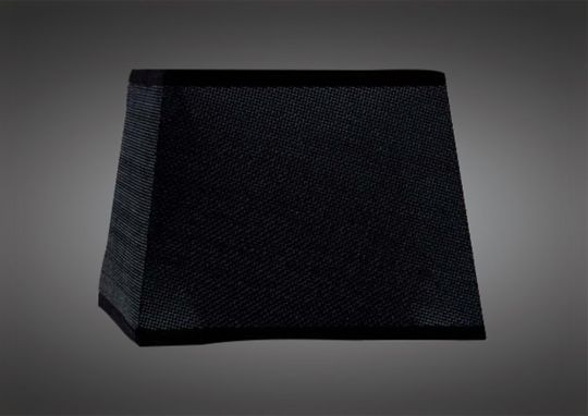 Mantra M5315 Habana Bkack Square Shade 355/355x250mm Suitable for Floor Lamps