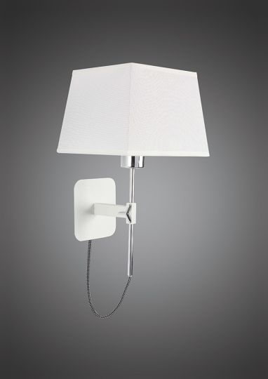 Mantra M5325 Habana Black Square Shade 240mm Suitable for Table Lamps