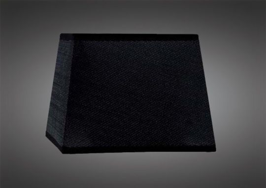 Mantra M5325 Habana Black Square Shade 240/240x 165mm Suitable for Table Lamps