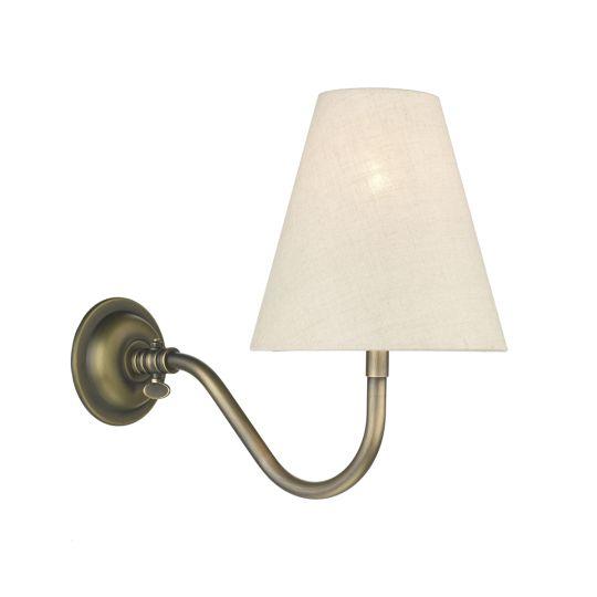 David Hunt Lighting HIC0775 Hicks Single Wall Bracket Antique Brass