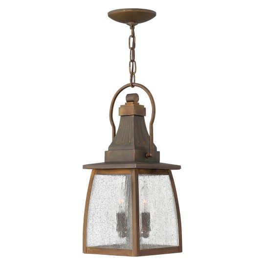 Hinkley Montauk 2 Light Chain Lantern HK-MONTAUK-CHAIN