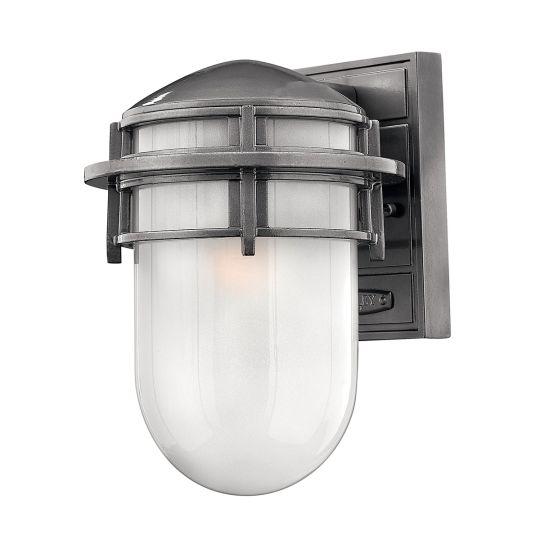 Hinkley Reef Small 1 Light Lantern - Hematite HK-REEF-SM-HE