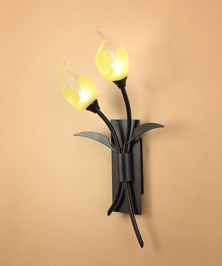 Mantra M0115/S Holland Wall Lamp Switched 2 Light G9 Brown/Black Oxide
