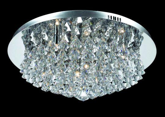 Impex Lighting - PARMA CHROME FLUSH 8LT G9