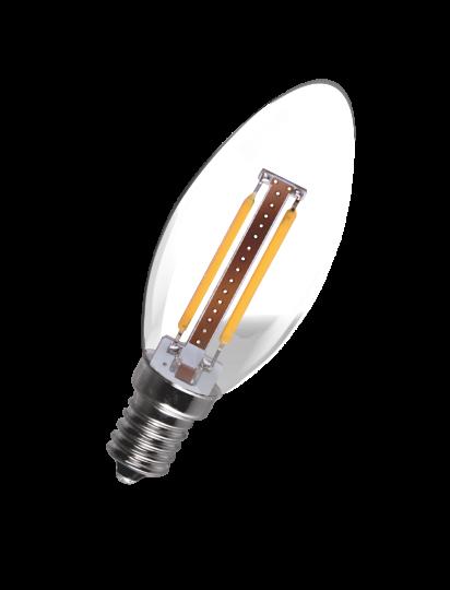 3W LED Filament Candle Bulb - Small Screw