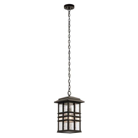 Kichler Beacon Square 1 Light Chain Lantern KL-BEACON-SQUARE8-OZ