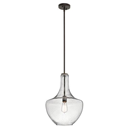 Kichler Everly 1 Light Medium Pendant - Olde Bronze KL-EVERLY-P-M-OZ