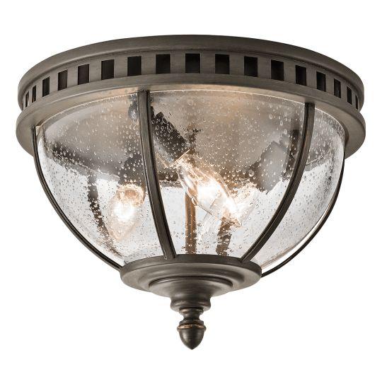 Kichler Halleron 3 Light Ceiling Flush KL-HALLERON-F