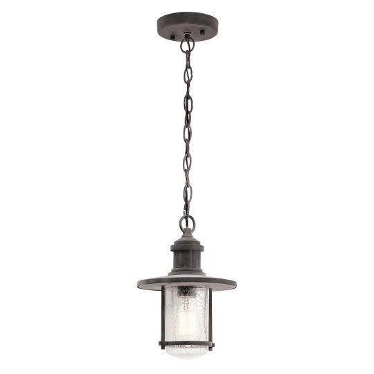 "Kichler Riverwood 8"" Chain Lantern KL-RIVERWOOD8-M"