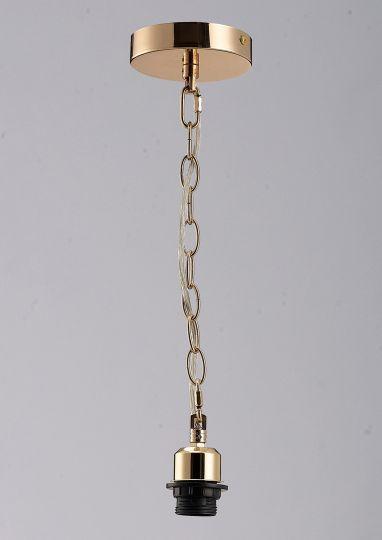 Diyas IL60015 Kudo Electrical Suspension Kit 1 Light French Gold