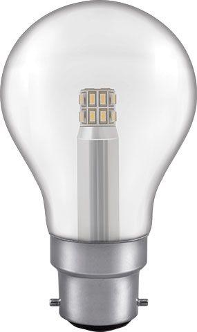 LED 5W Clear GLS Bulb - Bayonet