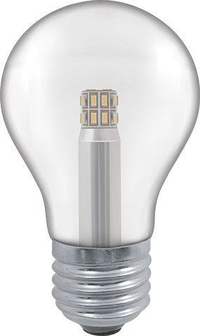 LED 5W Clear GLS Bulb - Screw
