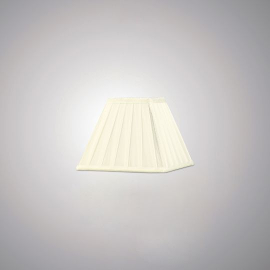 Diyas Lighting - Leela Square Shade Ivory 200mm - ILS20226