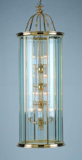 Impex Lighting - BEVELLED GLASS LANTERN