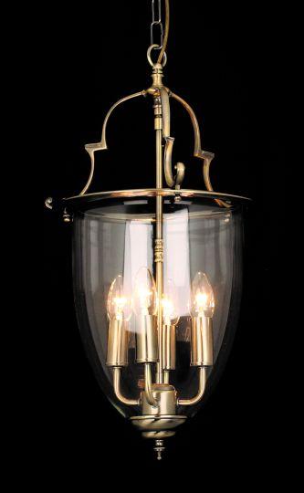 Impex LG201121/04/AB Norfolk  Series Decorative 4 Light Antique Brass Ceiling Light