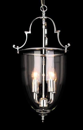 Impex LG201121/04/CH Norfolk  Series Decorative 4 Light Chrome Ceiling Light