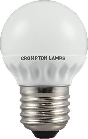 LED 4W Opal Golf Ball Bulb - Screw -  Warn White