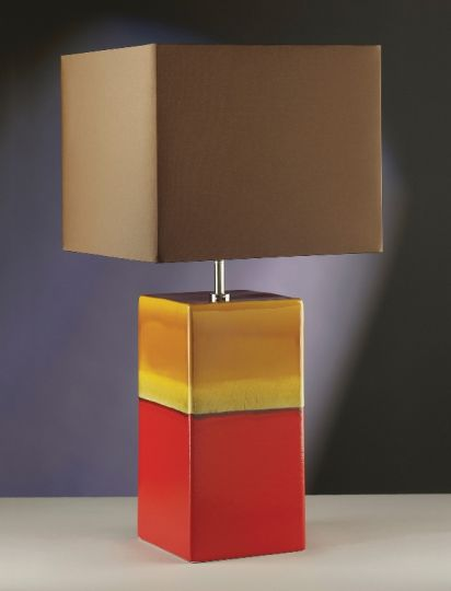 Luis Collection LUI/ALBA ROUGE Alba Rouge Table Lamp
