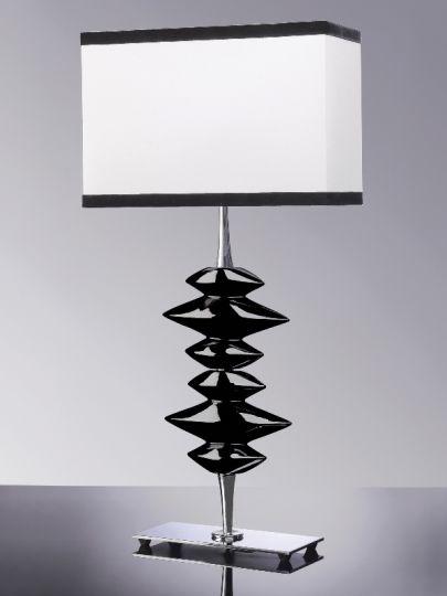 Luis Collection LUI/ALEXANDER Alexander Black Table Lamp