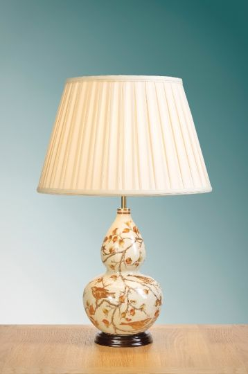 Luis Collection LUI/AUTUMN LEAF Autumn Leaves Gourd Table Lamp