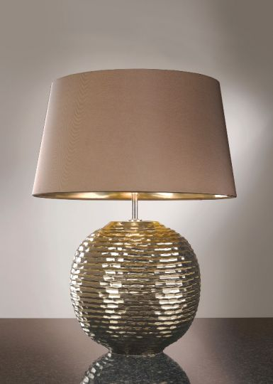 Luis Collection LUI/CAESAR GOLD Caesar Gold Table Lamp
